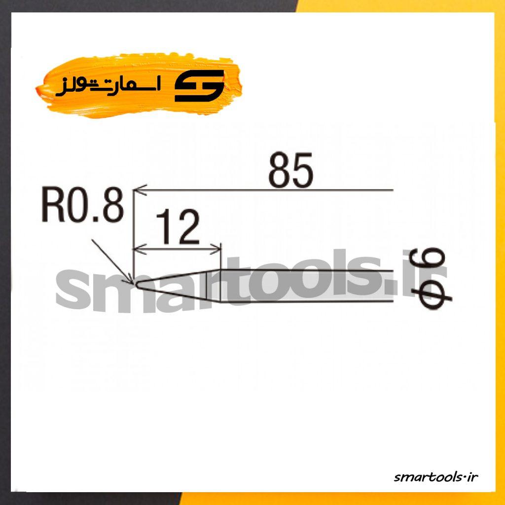 نوک هویه ۶۰ وات اورجینال گات مدل GOOT R-6B